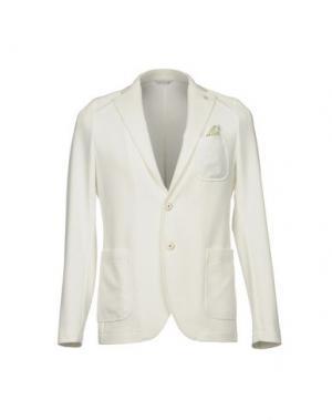 Пиджак MANUEL RITZ. Цвет: белый