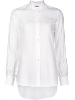 Рубашка на пуговицах Frame Denim. Цвет: белый
