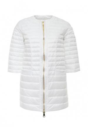 Куртка утепленная Odri. Цвет: белый