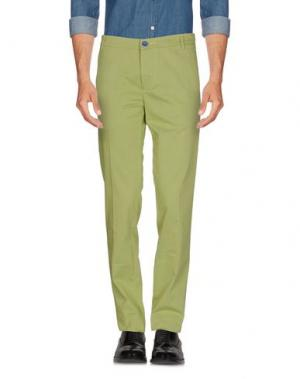 Повседневные брюки DIMATTIA. Цвет: кислотно-зеленый