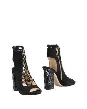 Полусапоги и высокие ботинки FESTA Milano. Цвет: черный