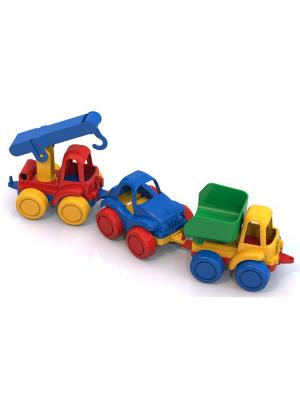 Машинка Нордпласт.. Цвет: синий, красный, салатовый