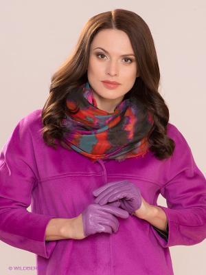 Перчатки MICHEL KATANA`. Цвет: лиловый