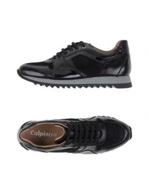 Низкие кеды и кроссовки CALPIERRE. Цвет: черный