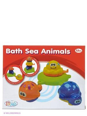 Набор для ванны Морские обитатели Toy Target. Цвет: красный
