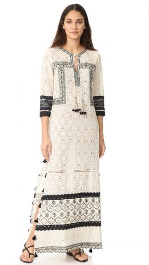 Макси-платье Hemant and Nandita. Цвет: белый