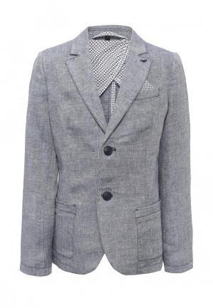 Пиджак Armani Junior. Цвет: голубой