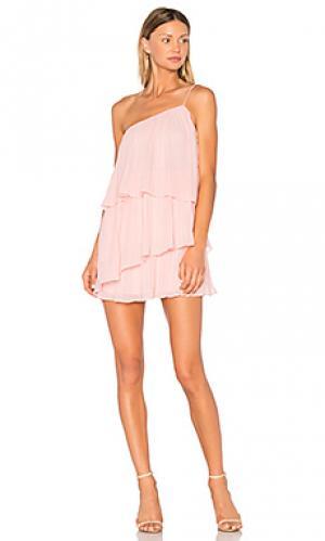 Платье girlfriend material NBD. Цвет: розовый