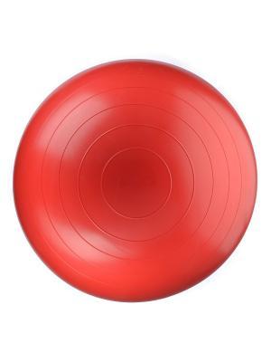 Мяч гимнастический (фитбол) диаметр 45 см DOCA. Цвет: красный