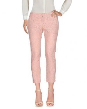 Повседневные брюки AINEA. Цвет: розовый