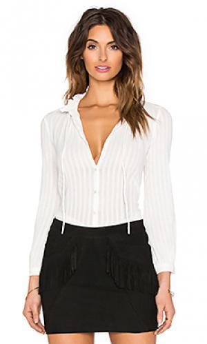 Рубашка Hoss Intropia. Цвет: белый