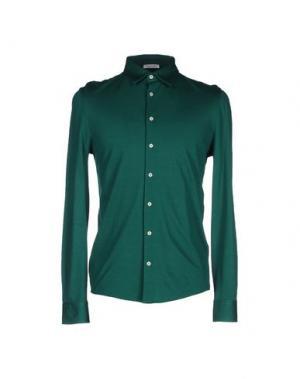Pубашка GRAN SASSO. Цвет: зеленый