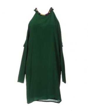 Короткое платье ELLA LUNA. Цвет: зеленый