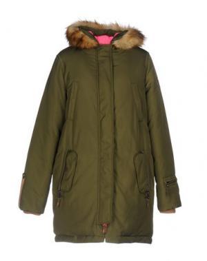 Куртка ELEVEN ELFS. Цвет: зеленый-милитари