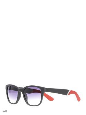 Солнцезащитные очки Modis. Цвет: черный, красный