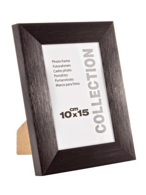 Рамка для фотографий BRUSH 10X15 Bizzotto. Цвет: черный