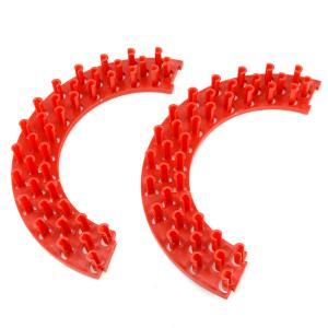 Станок для плетения браслетов арт. СПБ-007 Бусики-Колечки. Цвет: красный