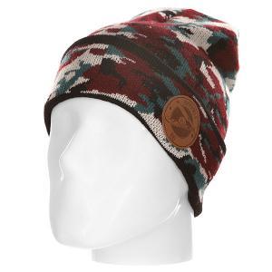 Шапка  Alek Oestreng Camo Hoppipolla. Цвет: черный,бордовый,зеленый,камувляжный
