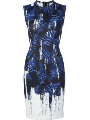 Платье Painted Ferns Yigal Azrouel. Цвет: чёрный