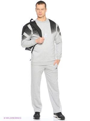 Брюки Ess Pant Oh Ft Adidas. Цвет: серый меланж