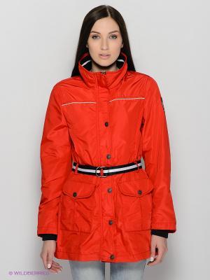 Куртка Lisa Campione. Цвет: красный