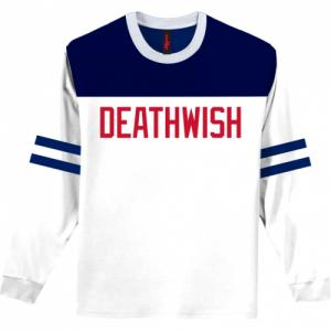 Sale BOARDWALK L/S SHIRT DEATHWISH. Цвет: wht/blu