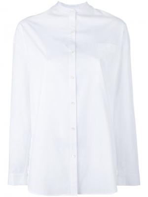Рубашка с оборками Robert Rodriguez. Цвет: белый