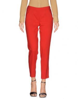 Повседневные брюки CARLA G.. Цвет: красный