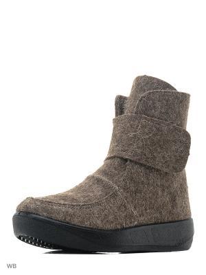 Валенки ШК обувь. Цвет: серый