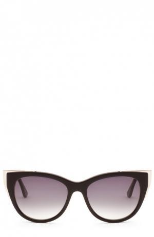 Очки солнцезащитные Thierry Lasry. Цвет: черный