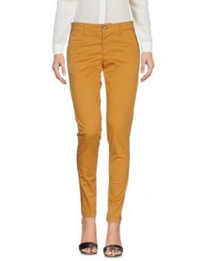 Повседневные брюки SQUAD². Цвет: охра