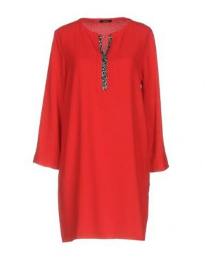 Короткое платье HANITA. Цвет: красный