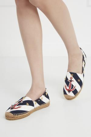 Хлопковые эспадрильи Dolce&Gabbana. Цвет: multicolor