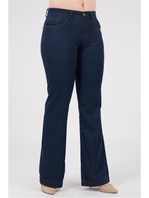 Брюки женские из джинсовой ткани Proto. Цвет: темно-синий