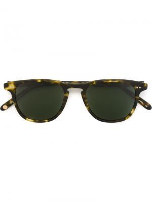 Солнцезащитные очки Brooks Garrett Leight. Цвет: зелёный
