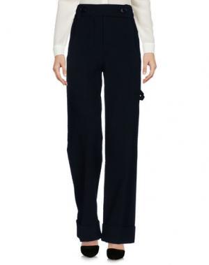 Повседневные брюки VERONIQUE LEROY. Цвет: темно-синий