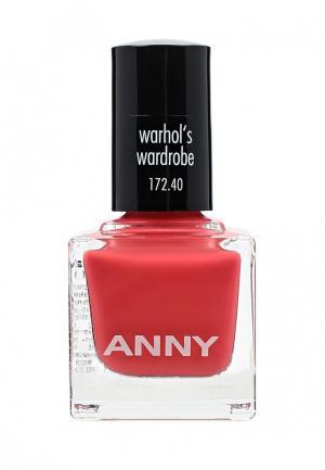 Лак для ногтей Anny. Цвет: коралловый
