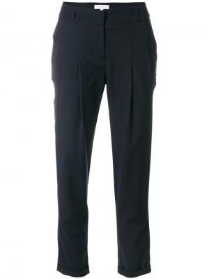 Укороченные брюки Io Ivana Omazic. Цвет: синий