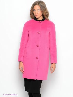 Пальто Pompa. Цвет: розовый