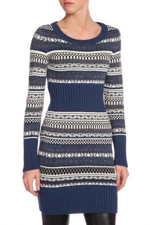 Платье HAPPYCHOICE. Цвет: синий