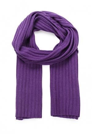 Шарф Pur. Цвет: фиолетовый