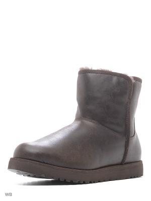 Угги женские UGG, 1014439, STT UGG Australia. Цвет: темно-коричневый