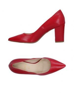 Туфли LE STELLE. Цвет: красный