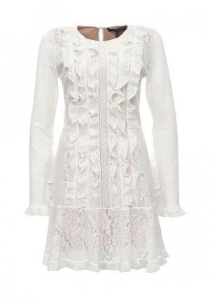 Платье BCBGMaxAzria. Цвет: белый