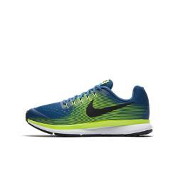 Беговые кроссовки для школьников  Zoom Pegasus 34 Nike. Цвет: синий
