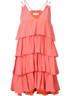 Платье Canyons Apiece Apart. Цвет: жёлтый и оранжевый