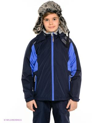 Куртка HUPPA. Цвет: темно-синий