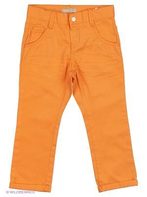 Брюки NAME IT. Цвет: светло-оранжевый