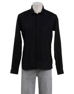 Pубашка GIULIANO FUJIWARA. Цвет: черный