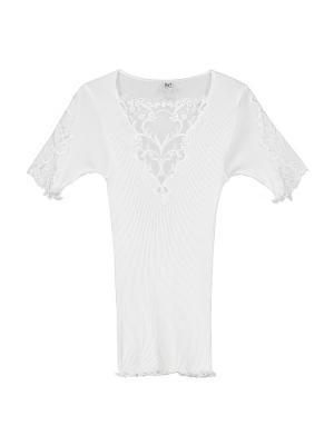 Блуза Bona Dea. Цвет: белый
